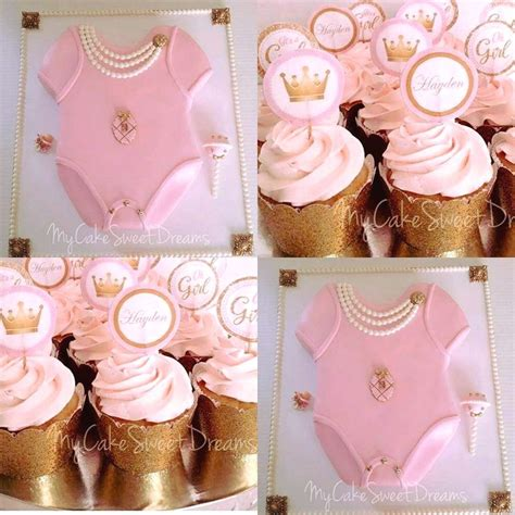 Princess Baby Shower by Princess Baby Shower Cake Cupcakes Cakecentral