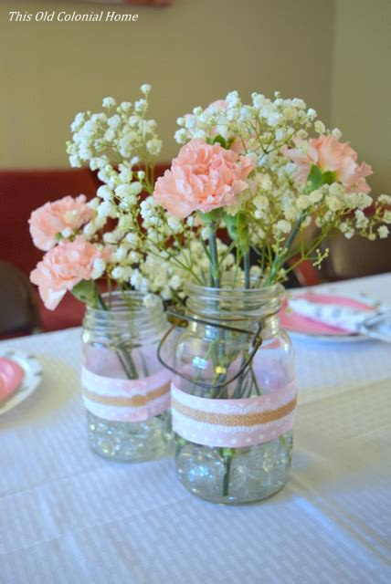 baby shower this colonial home