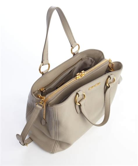 7789 20 High Heels Valentino 2788 miu miu pomice grained leather compartment convertible satchel in lyst