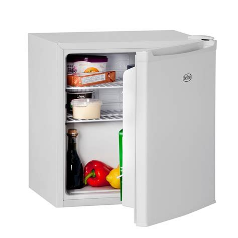 belling bl45wh a compact table top fridge in white