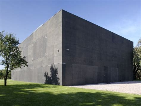 secure house plans if it s hip it s here archives the safe house in poland is a modern fortress with sliding walls