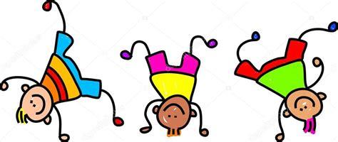 imagenes de niños felices animados ni 241 os felices de personaje de dibujos animados jugando