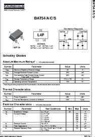 batc datasheet schottky barrier diode