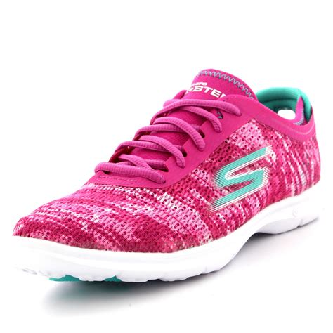 memory foam sneakers womens skechers go step walking running memory