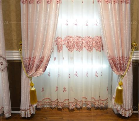 chinese curtains free shipping kids room curtains for children embroidered