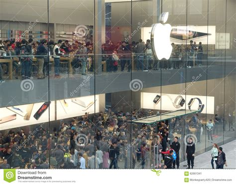 Second Store For Marc by Chengdu Opens Second Apple Store Editorial Photo Image