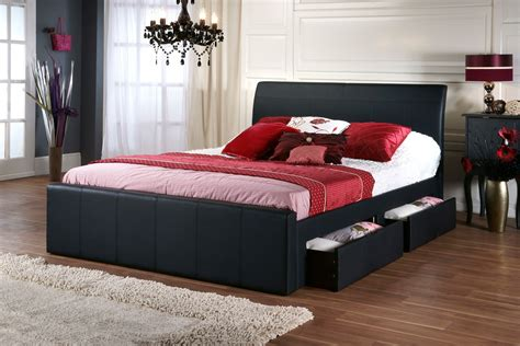 black king size bed frame with drawers bedroom healthy bed frames with drawers design ideas