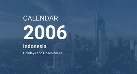 year  calendar indonesia