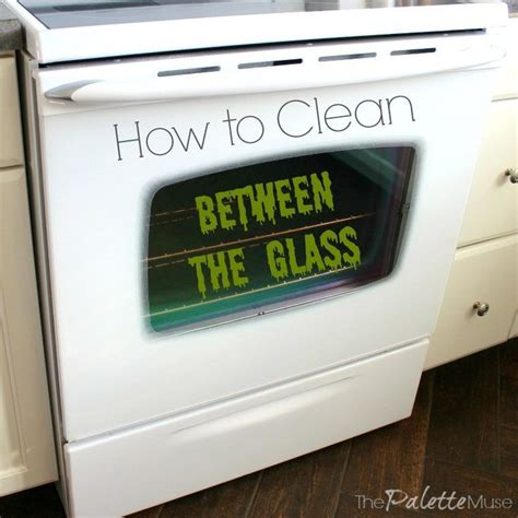 how to clean between the glass door of your maytag oven