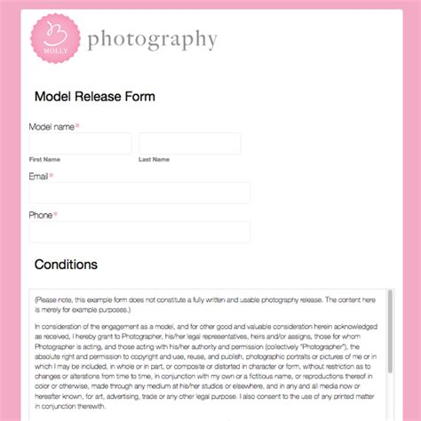 photography business forms templates form photography www imgkid the image kid has it