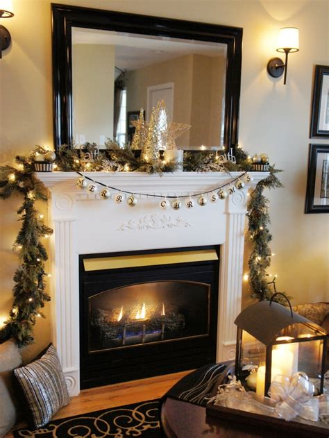 Fireplace mantel decor for christmas modern fireplace mantel ideas