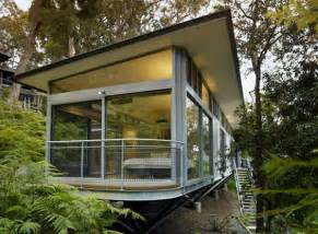 glass and steel house architecture contemporary design