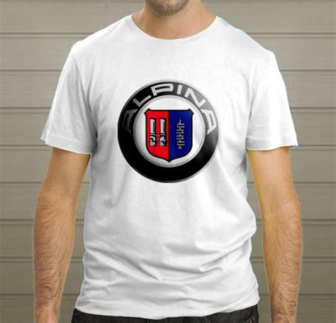 Bmw 2 Sides Tshirt Size L bmw alpina logo white t shirt size s m l xl 2xl t shirts tank tops