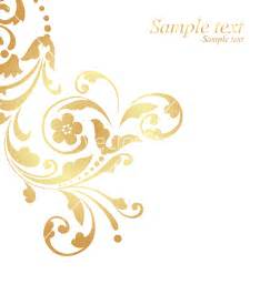 home design gold free gold floral design vector by nete image 117026