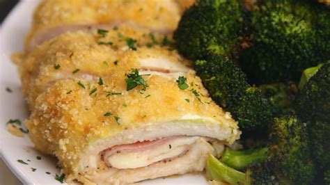 ham and chicken recipes chicken ham and cheese roll recipe chicken recipes