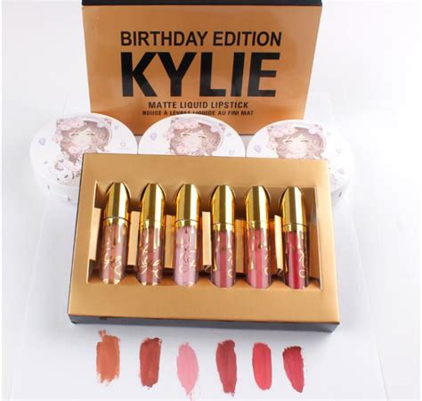 Mini Kit Matte Liquid Lipstick Edition birthday edition collection mini kit matte liquid