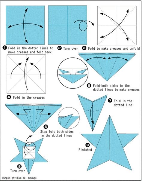 How To Make Starfish With Paper - for origami starfish easy crafts ideas to make