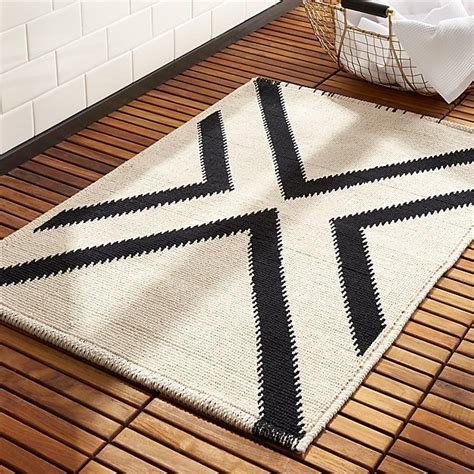 Modern Bathroom Rugs by X Base Bath Mat Reviews Cb2