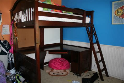 full loft bed with desk full size bunk beds with desk under hostgarcia