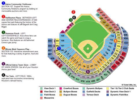astros seating chart minute park houston astros ballpark ballparks of