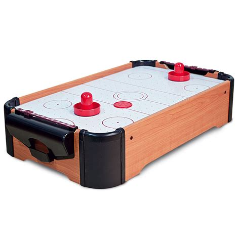 new tabletop mini table top air hockey game set activity