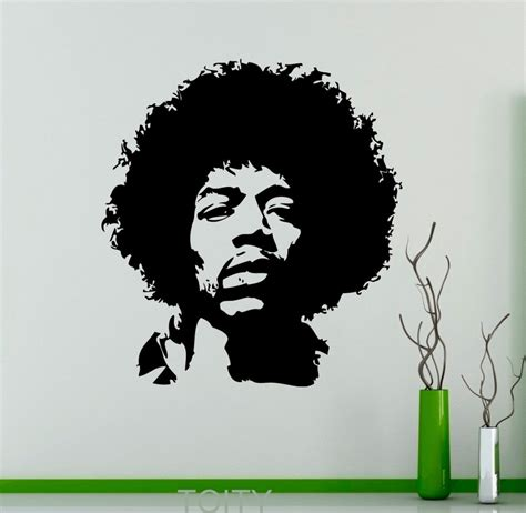 Wall Decor Stickers Online Shopping compare prices on jimi hendrix vinyl online shopping buy