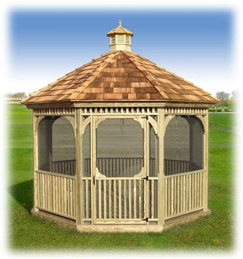 Landscape Timber Octagon Gazebos For Rochester Ny And Western New York