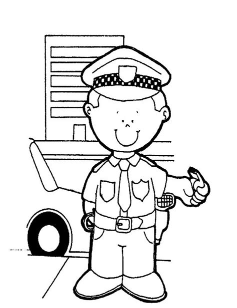coloring pages with police free printable policeman coloring pages for kids