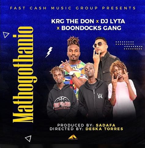 krg  don feat boondocks gang dj lyta mathogothanio