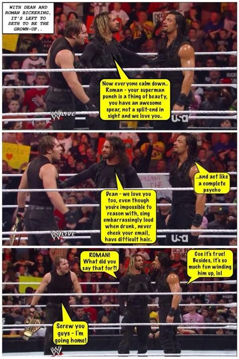 Wwe Wrestling Memes - credit jen dean ambrose net the shield funnies and more