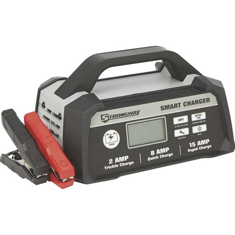 Smart Battery strongway smart battery charger 12 volt 2 8 15