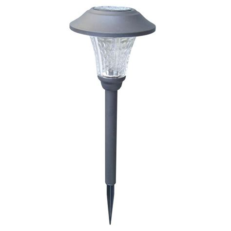 solar lights with remote solar panel moonrays solar powered 20 lumen black outdoor integrated