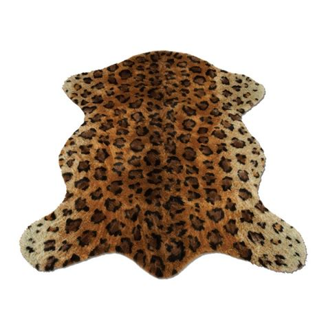 Faux Leopard Rug by Faux Leopard Rug Cozy Home