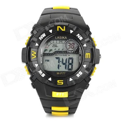 Lasika W F77 lasika w f77 s waterproof rubber band quartz led
