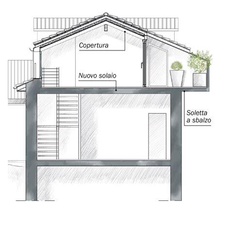 solaio terrazzo la casa triplica con il recupero sottotetto cose di casa