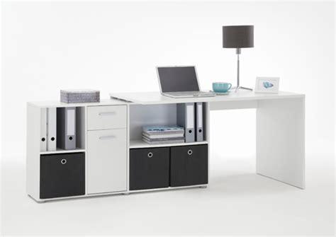 bureau basika bureau d angle blanc