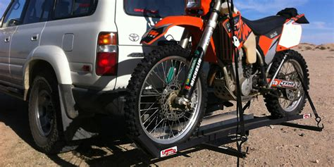 Dirtbike Rack by Joe Hauler Dirt Bike Carrier Review Road