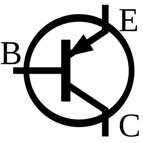 simbol transistor bjt file bjt pnp symbol svg