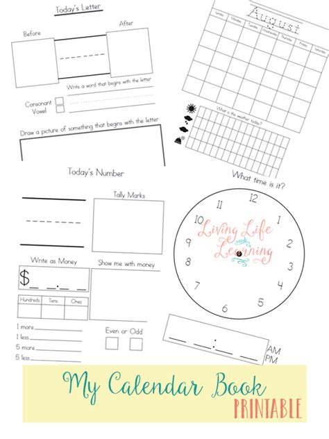 printable calendar booklet free printable calendar book money saving mom 174