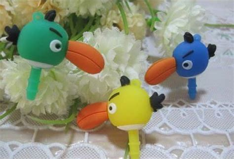 Wa1987 Dust Plugs Pluggy Angry Birds 70 smartphone anti dust plugs you can buy web burning