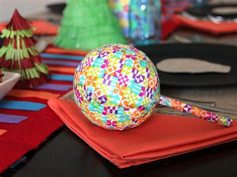 Christmas Decorations In Homes by How To Make Paper Mache Maracas How Tos Diy