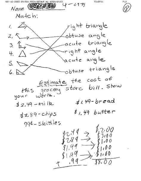 10 Grade Geometry Worksheets by 11 Best Images Of 10th Grade Math Worksheets With Answer