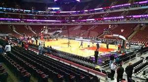 united center section 109 chicago bulls rateyourseats