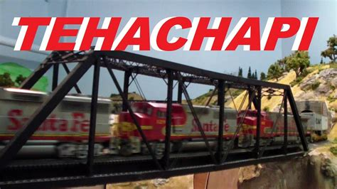 santa fe layout youtube rich melconian s ho scale santa fe southern pacific up