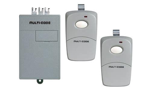 Garage Door Opener Remote And Receiver Multi Code Garage Door Opener Remote Replacement Kit 2