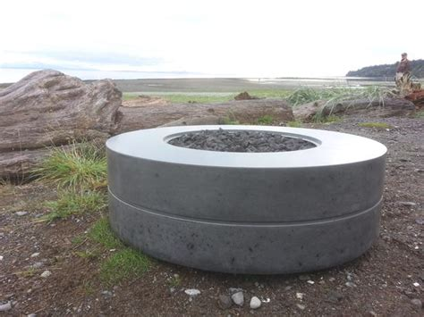 concrete fire pit courtenay comox valley