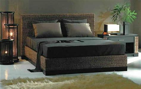 bett geflochtenes kopfteil sind die rattanbetten passend f 252 r mein schlafzimmer