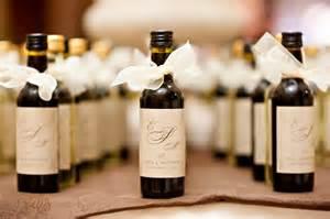 Small Wine Bottles For Favors by Wine Bottle Favors In Ta Ta Wedding Planners