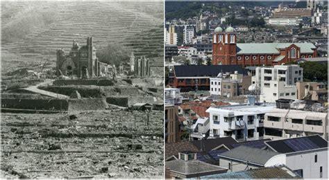 imagenes de japon despues de la bomba atomica post fotos el antes y despu 233 s de hiroshima y nagasaki