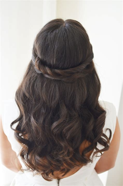 wedding hairstyles long brunette 6 wedding hair ideas alicia fashionista
